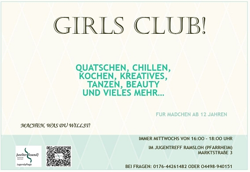Girls Club © Gemeinde Saterland